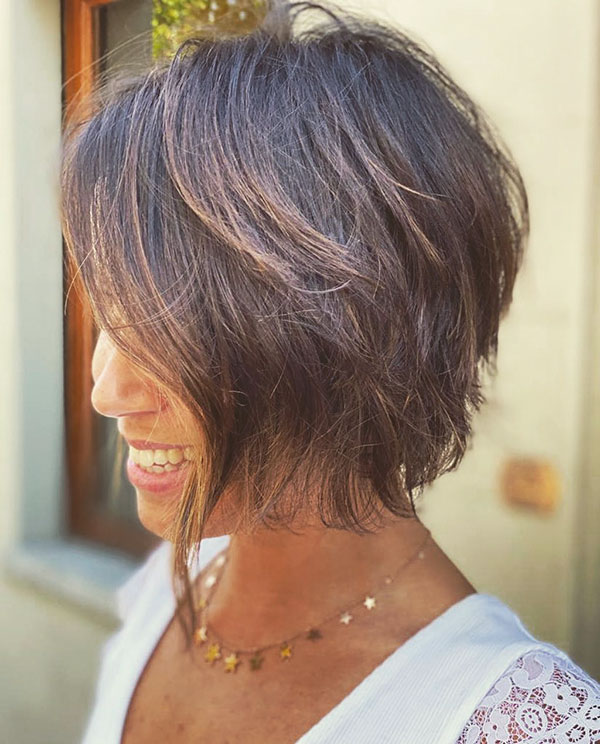 Messy Bob Haircut Pictures