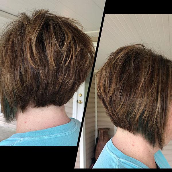 Textured Bob Haircuts