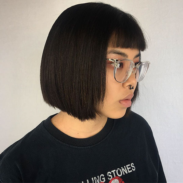 Images Of Bob Haircuts With Bangs