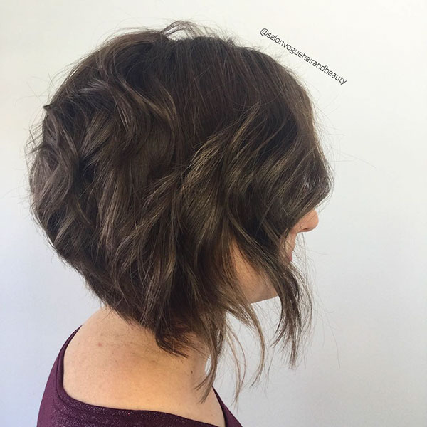 Pictures Of Textured Bob