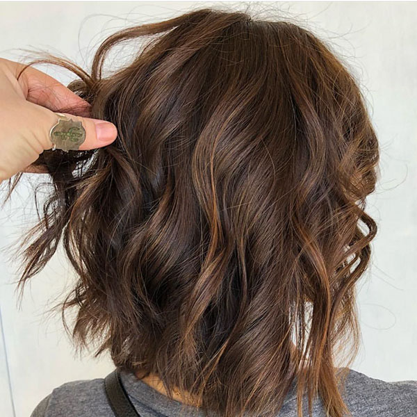 Textured Bob Haircut Pictures