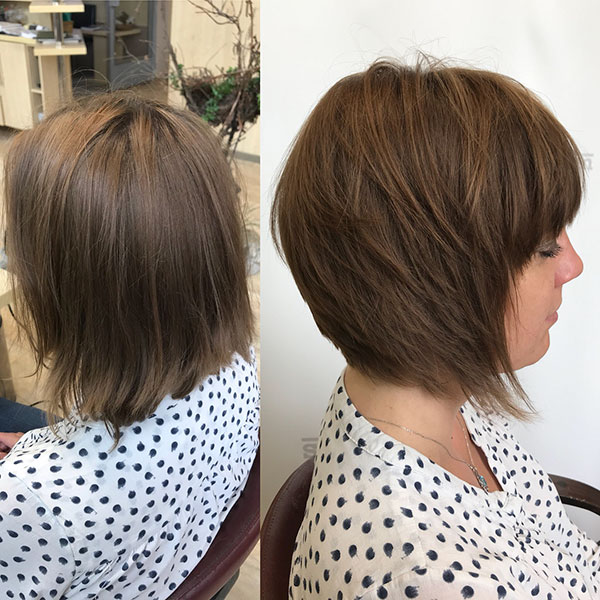 Super Short Bob With Bangs