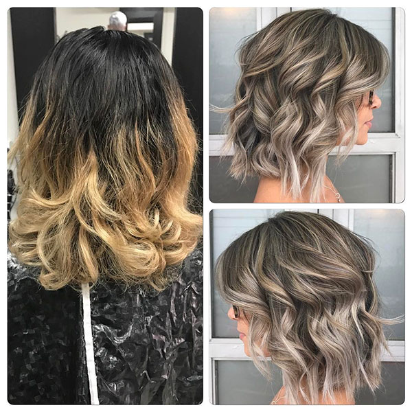 Medium Bob Haircuts For Wavy Hair