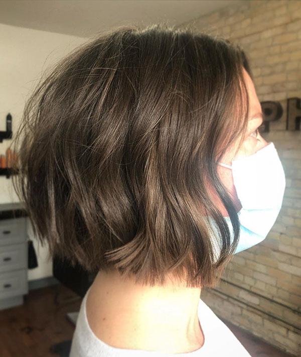 Short Blunt Bob Cut Hairstyles