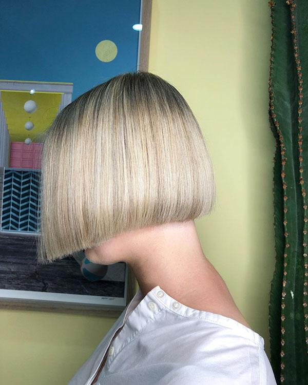 Blunt Bob Haircuts For Short Hair