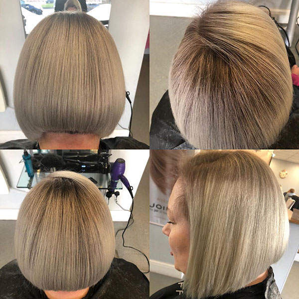 Medium Stacked Bob Haircuts