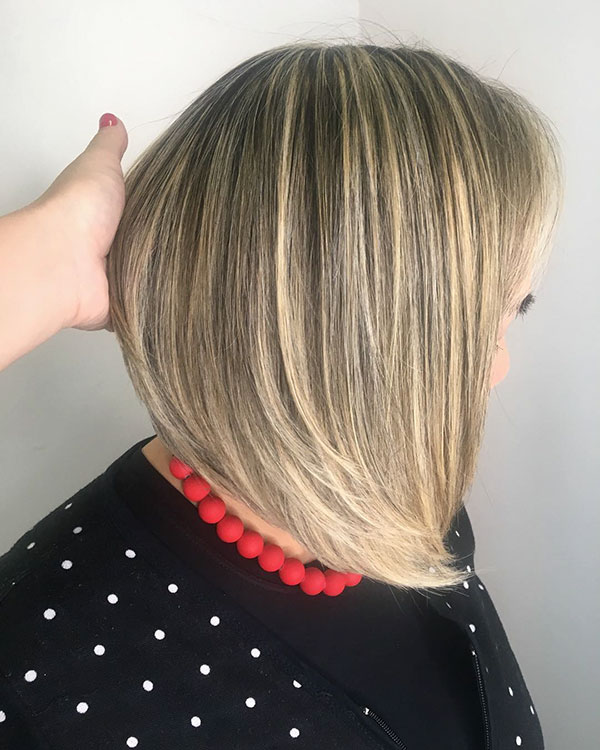 Images Of Medium Stacked Bob Hairstyles
