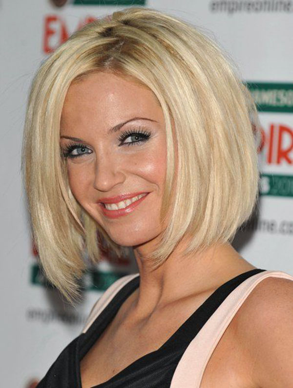 Pictures Of Medium Stacked Bob Haircuts