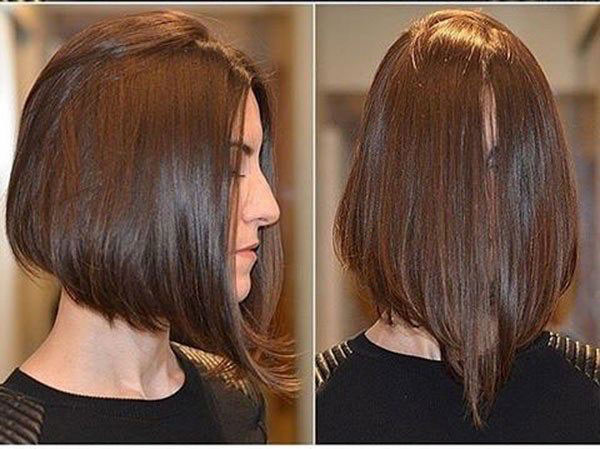Pictures Of Medium Lob Haircuts
