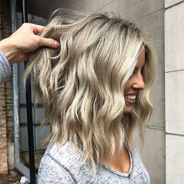 Medium Bob Hairstyles For Wavy Hair