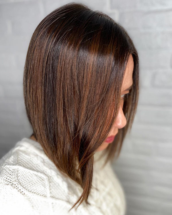 Latest Medium Lob Hairstyles