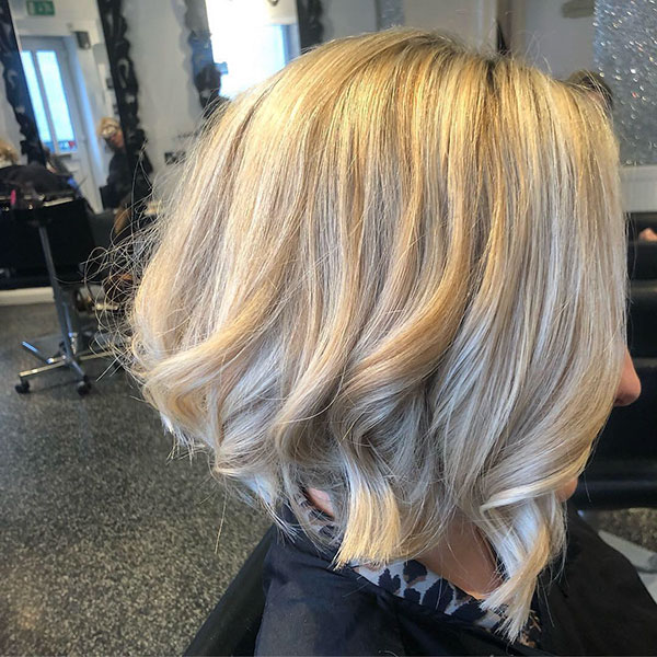 Stacked Bob Hairstyles For Medium Hair