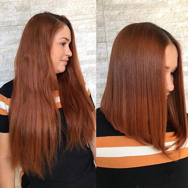 Medium Straight Bob Hairstyles