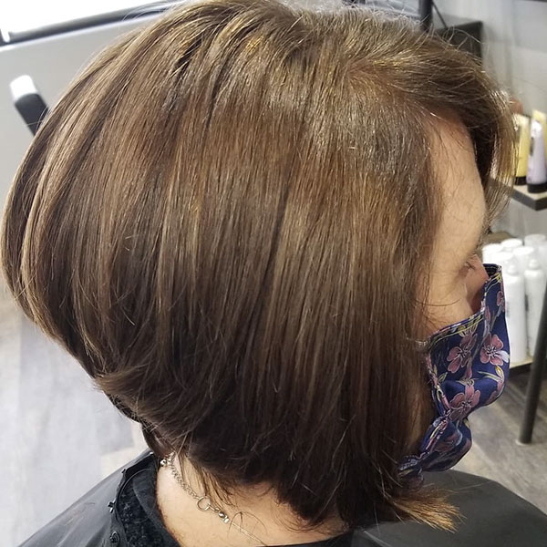 Pictures Of Short Inverted Bob Hairstyles